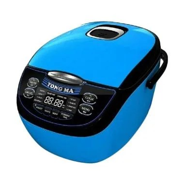 Yong Ma Rice Cooker MC 3700 / MC3700  - Blue - Bubble Wrap