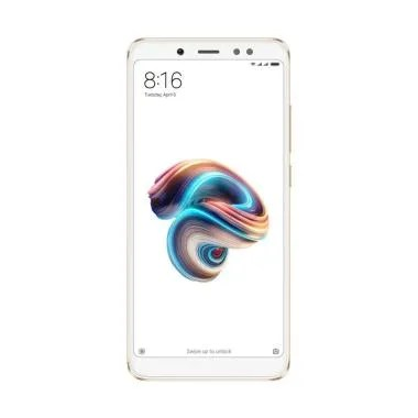 Xiaomi Redmi Note 5 Pro Smartphone - Gold [64GB/ 4GB]