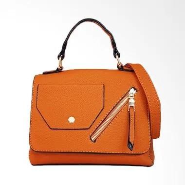 Catriona Walda Top Hand Bag Wanita - Brown