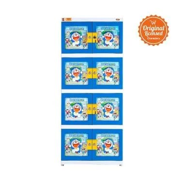 Doraemon 3D Drawer New with Key Lemari