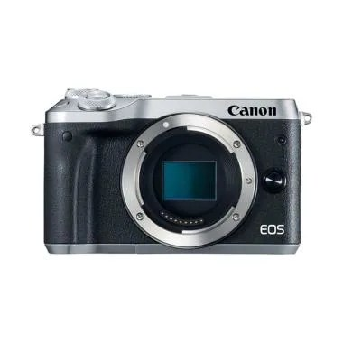 Canon EOS M6 Body Only Kamera Mirrorless - Silver