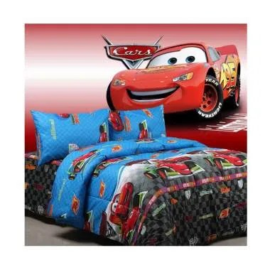 Sierra Cars Grand Prix Set Bed Cover dan Sprei