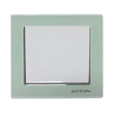 Boton G9-001 Crystal Glass Series Saklar Engkel