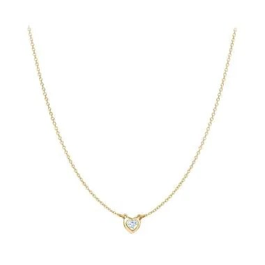 Tiaria Heart To Necklace