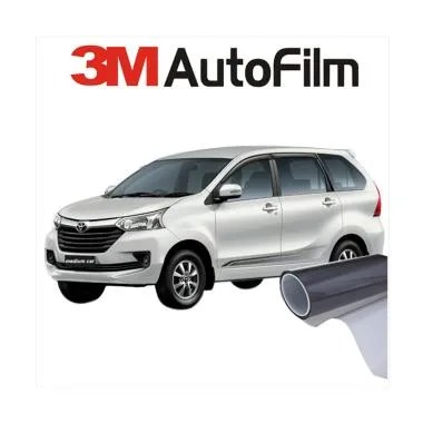 3M Black Beauty Kaca Film Full Kaca for Medium Car