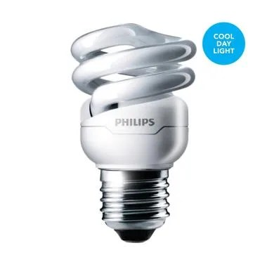 Philips Lampu Tornado 8W Cool Day Light/Putih