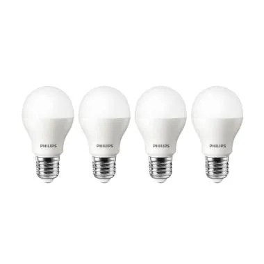PHILIPS LED Lampu Bohlam - Putih [10.5 W/4 pcs]