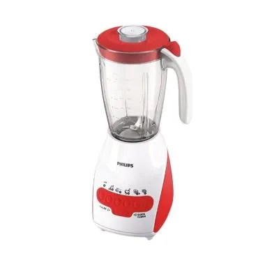 Philips Blender HR 2116 / HR2116 Kaca - Red [2L] - Bubble Wrap