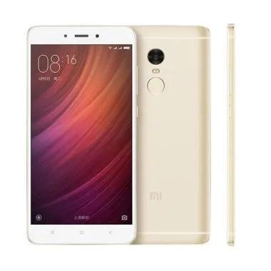 Xiaomi Note 4 Smartphone - Gold [64GB/ 3GB]