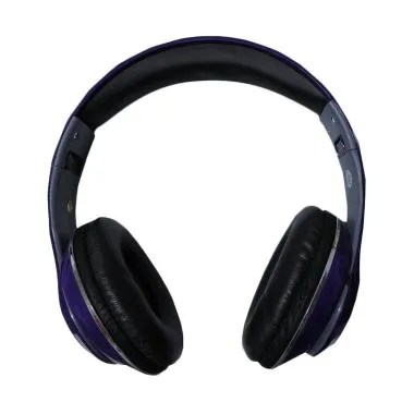 Monster TM-010 Beats by dr.dre Blue ... D Wireless Headset - Ungu