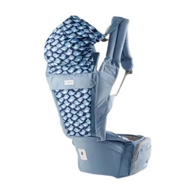 Pognae Orga Plus Hipseat and Baby CarrierBlueberry | FREE BEBE BOCAS