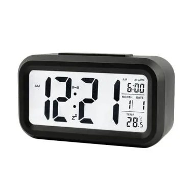 OEM Jam Digital Meja JM001 Alarm Clocks - Black