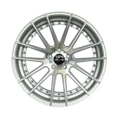 JF Luxury AD7 Velg Mobil - Silver Polish [Ring 20]