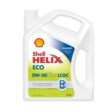 Shell Helix ECO Synthetic 0W-20  [3 ...  KARIMUN DATSUN MARCH DLL