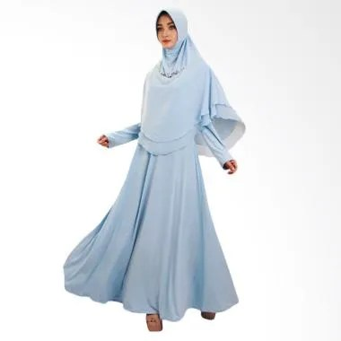 Nines Group NWS Moeslem Avada Dress - Biru