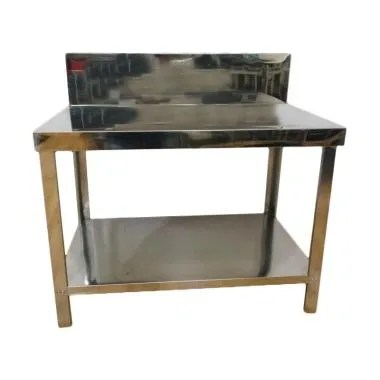 Metalco MT 2 Stainless Steel Meja Dapur [2 Rak]