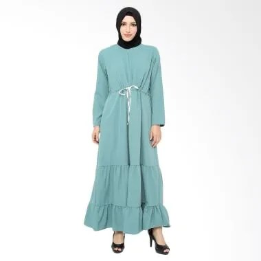 Xq Moslem Wear Tiara Dress Muslim - Blue
