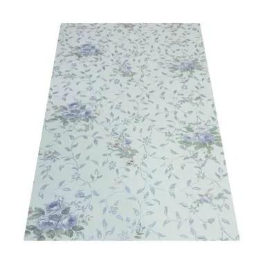 Zyo WPS051 Flower Leaves Wallpaper  ... ng - Silver [45 cm x 5 m]