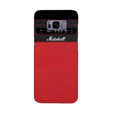 Indocustomcase Red Marshall Guitar  ... ing for Samsung Galaxy S8