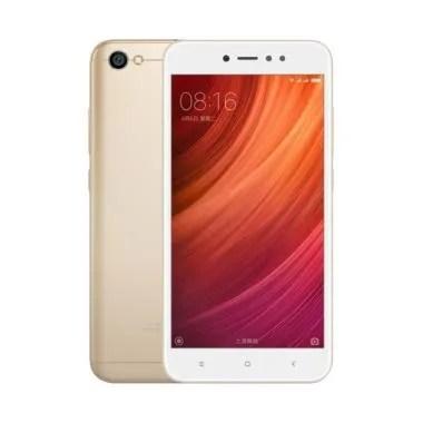 Xiaomi Redmi Note 5A Smartphone - Gold [16GB/2GB] Garansi distributor