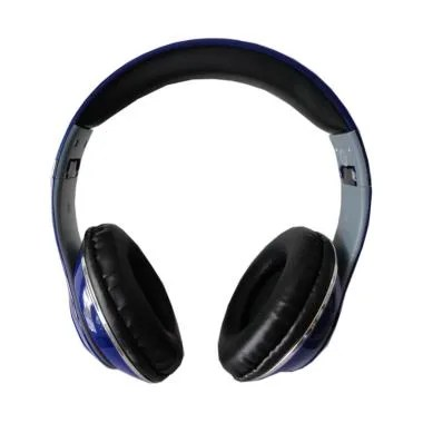 Monster TM-010 Beats by dr.dre Blue ... D Wireless Headset - Biru