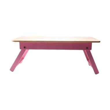 My Choice IF-00095P Solid Wood Top Meja Gambar Anak [meja laptop]