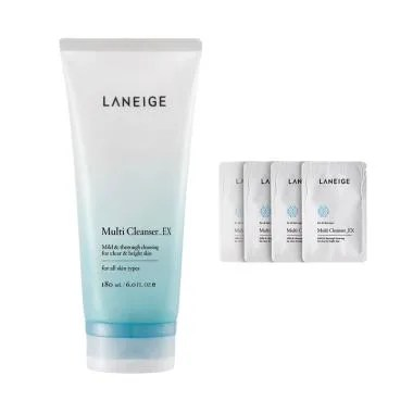 Laneige Multi Cleanser_EX Set Pembersih Wajah [180 mL]