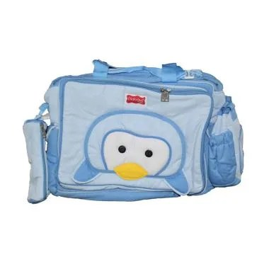 Dialogue Baby Big Bag Penguin Tas Bayi - Blue
