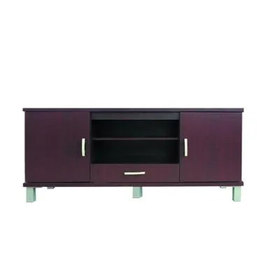 Kirana BF 846 DM Rak TV or Audio Dark Mahogany