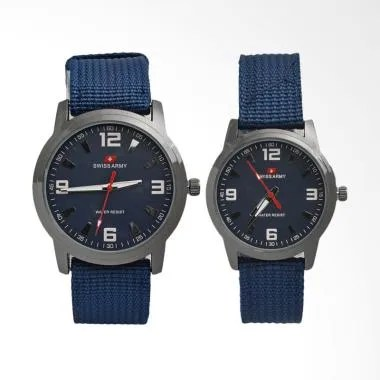Swiss Army Sport Jam Tangan Couple - Blue SA022CBL