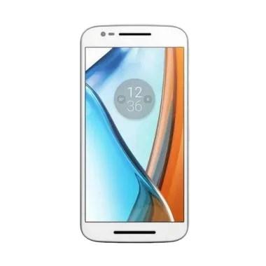 Motorola E3 Power XT1706 LTE Smartphone - Putih [16GB/ 2GB]