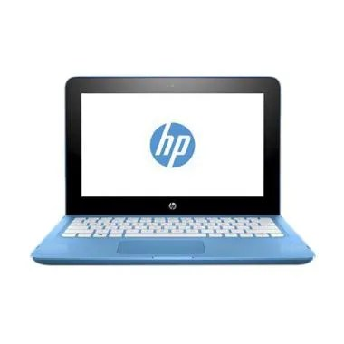 Netbook HP X360 11-AB036TU Laptop - ... ch/Windows 10] Warna Biru