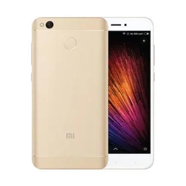 Xiaomi Redmi 4X Prime Smartphone - Gold [32GB/3GB]