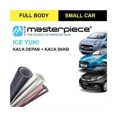 Masterpiece Ice Yuki Small Car Window Film [Full Body]