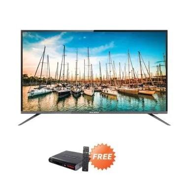Ichiko S5058 Ultra HD 4K Basic TV L ... + Free Set Top Box DVB T2