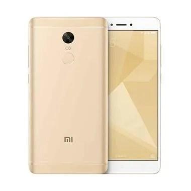 Xiaomi Redmi Note 4X Smartphone - Gold [16GB/ 3GB]