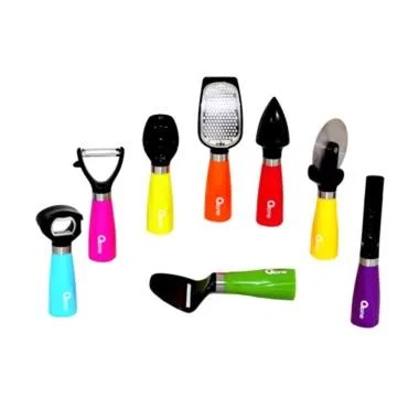 Oxone OX-042 Rainbow Kitchen Utensils Set Peralatan Dapur Masak