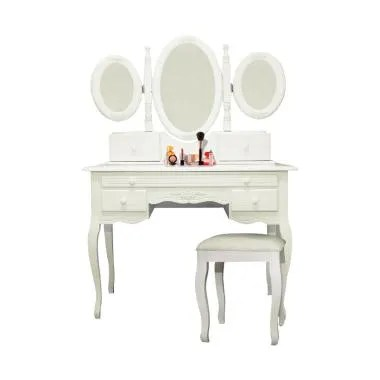 Dove's Furniture Meja Rias MR-004 - White