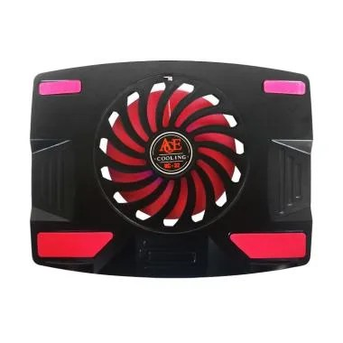 Ace NC-32 Single Fan Cooling Pad - Black