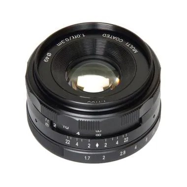 Meike 35mm F1.7 Lensa Kamera for Mirrorless Fujifilm X Mount Series