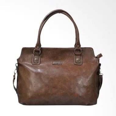JAVA SEVEN BTS 783 Hand Bag Wanita - Coklat