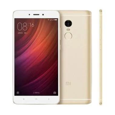Xiaomi Redmi Note 4 Smartphone - Gold [64GB/ 3GB]