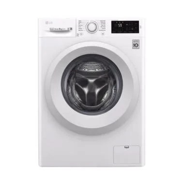 LG FC1208N5W Front Loading Mesin Cuci [8 kg]