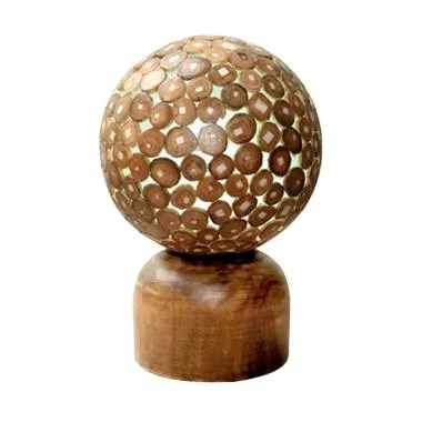 Hermosa Home Decor Coin Table Lamp
