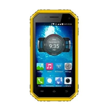 Ken Mobile W6 Pro Smartphone - Yellow [16GB/2GB]