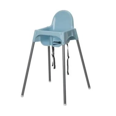 Ikea Antilop Baby High Chair Kursi Makan Anak - Baby Blue