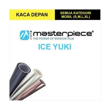Masterpiece Ice Yuki Small Car Window Film [Kaca Depan]