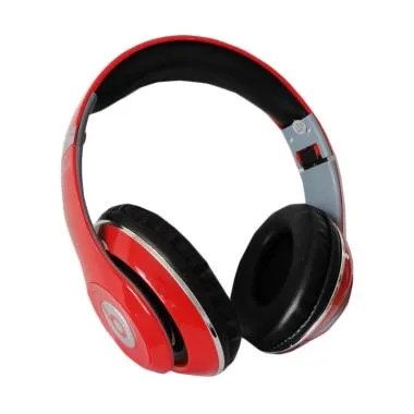Monster TM-010 Beats by dr.dre Blue ...  Wireless Headset - Merah