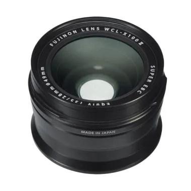 Fujifilm WCL-X100 II Wide Conversion Lens - Black