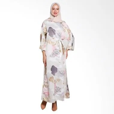 Covering Story Izhara B Long Dress Muslim - Bw Pink